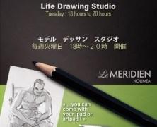 Atelier de modèle vivant  (NIKO)