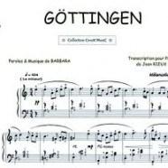 Göttingen, et Barbara est la mélancolie même…