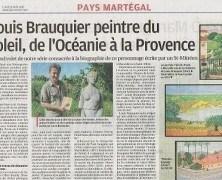 LOUIS BRAUQUIER POETE ET PEINTRE MARSEILLAIS D'OCEANIE