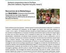 Conférence ADCK – Penser la décolonisation de l'école avec Marie Salaün