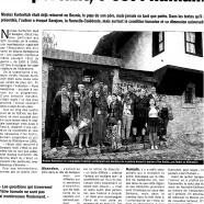 Nicolas Kurtovitch invité aux 52èmes journées de la Poésie à Sarajevo