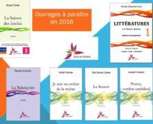 Parutions 2016