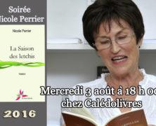 La Saison des letchis de Nicole Perrier