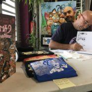 GOTZ, artiste peintre et auteur de BD