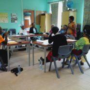 Rencontre avec l'association TAGADE à la tribu de Ouaté, à Koné