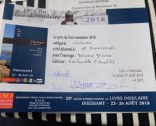 Le Prix 2018 du livre insulaire de Ouessant décerné à Hamid Mokaddem